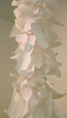 Torrent, paper, plastic and celotape. 3 x 0.3 metres. 08.03.15