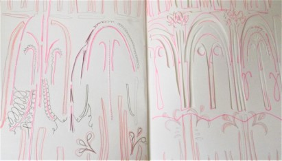 Venice, paper cut, A3