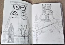 Bernd and Hilla Betcha, 'Pitheads' 1974, pen on paper, A3